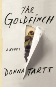 """The Goldfinch"" by Donna Tartt is her first new book in eleven years, but well worth waiting for."