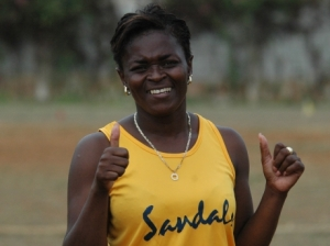So sad: Inspector of Police Andrea Johnson, in charge of Sandy Bay Police Station,  was killed when her SUV plunged into a ravine in Hanover. Inspector Johnson was also a terrific athlete and netballer. (Photo: Contributed to  Gleaner)
