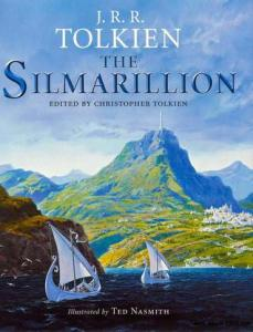 """The Silmarillion"" by J.R.R. Tolkien."
