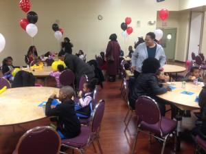 The Jamaican Canadian Association put on a Christmas treat for the children. (Photo: Twitter)