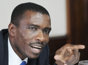 The Director of Communications in the Office of the Prime Minister Huntley Medley was appointed two or three months ago. He is a former journalist. (Photo: Gleaner)
