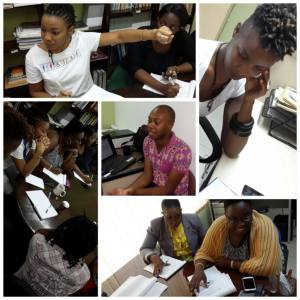 The proposal writing workshop facilitated by Jaevion Nelson. (Photo: J-FLAG)