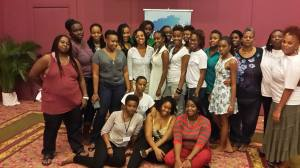 Participants in the Ocho Rios training pose for a group photo. (Photo: J-FLAG)
