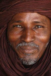 Libyan tribesman.