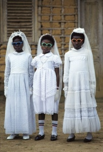 First communion, Equatorial Guinea (and a fashion statement).