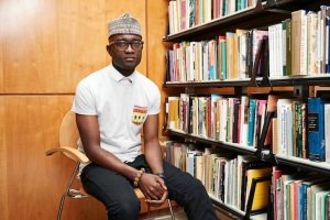 """In memory of those who died in Baga recently at the hands of Boko Haram militants, London-based Nigerian poet tweeted a poignant poem, """"Nigerian Pastoral."""" Ellams grew up with a Christian mother and a Muslim father in Jos. (Photo: okayafrica.com)"""