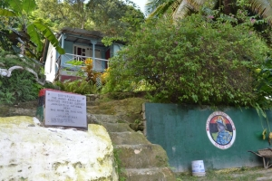 National Hero Marcus Garvey's birthplace: 32 Market Street, St. Ann's Bay.