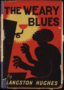 "Langston Hughes' first book of poetry, ""The Weary Blues,"" published in 1926."