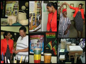 "An exhibit of ""intangible"" items at the African Caribbean Institute of Jamaica. (Photo: Ministry of Youth and Culture)"