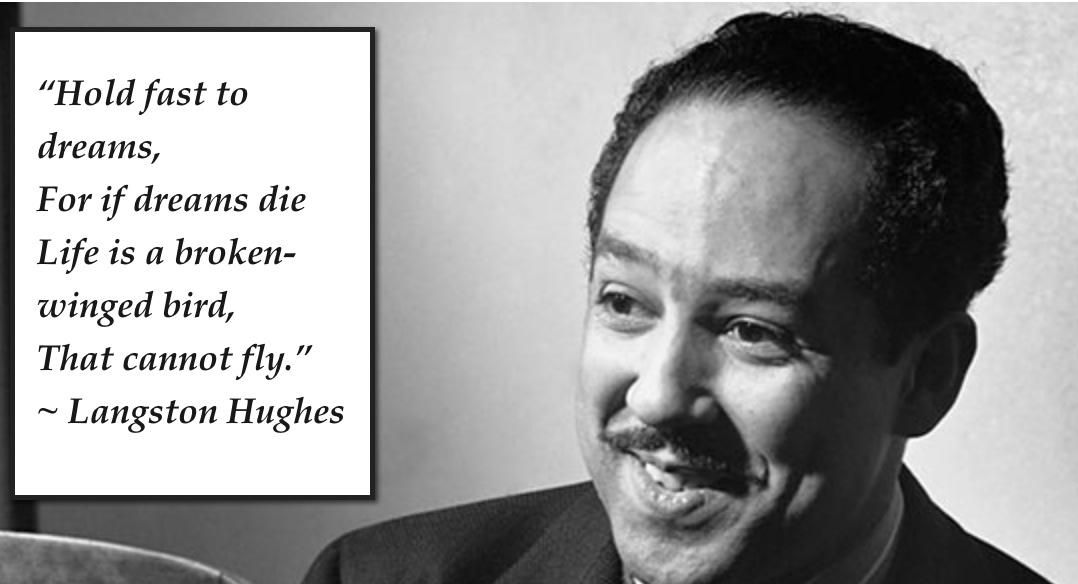 One of Langston Hughes    most famous quotations Langston Hughes Famous Quotes