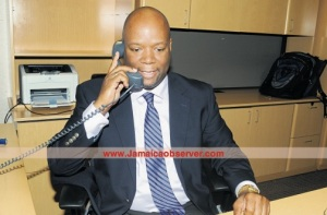 Sean Latty returns to Digicel as Chief Operating Officer in charge of mobile. (Photo: Jamaica Observer)