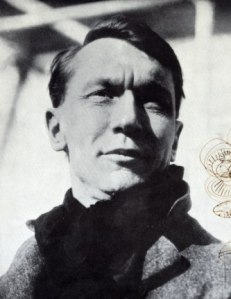 "Vachel Lindsay liked to call himself a ""troubadour."" This photo is by Job Conger, who wrote a biography of him."