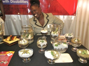 I got to know the Abilities Foundation at the JN Foundation Social Enterprise Summit recently. They sell lovely terrariums and other crafts to support their valuable work.