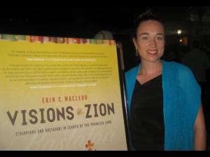 Dr Erin MacLeod at the launch of her book, 'Visions of Zion: Ethiopians & Rastafari in The Search for The Promised Land'. (Photo: Gleaner)