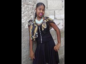 Fifteen-year-old Amoya Brown and her 25-year-old boyfriend Demar Smith were chopped to death on Saturday allegedly by their landlord over loud noise. (Photo: Gleaner)