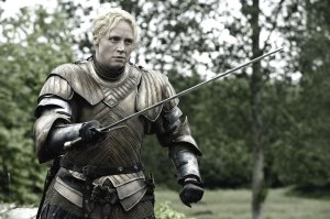 "I would love to see our Prime Minister armed and ready to confront corruption, like Brienne of Tarth, portrayed by Gwendolyn Christie in ""Game of Thrones."""