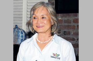CEO of Island Grill Thalia Lyn aims to greatly reduce the restaurant chain's plastic and styrofoam use.