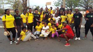 The Respect Jamaica crew.