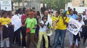 Feeling the energy… (Photo: Respect Jamaica/Facebook)
