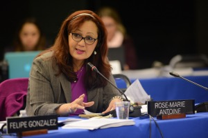 Rose-Marie Belle Antoine is President of the Inter-American Commission on Human Rights (IACHR). She has dual St. Lucia/Trinidad and Tobago citizenship. (Photo: IACHR)
