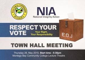 ECJ-NIA Town Hall Flyer