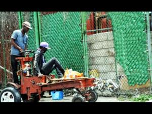 Motorized handcarts now in use. (Photo: Gleaner)