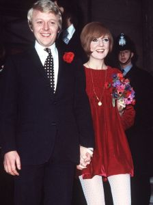 Cilla and her husband Bobby Willis, hands held tight. I notice that she was surrounded by men who loved and supported her.