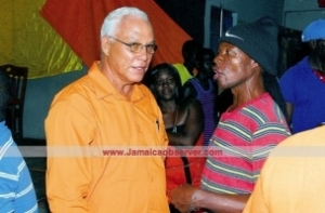 The Walken-esque Evon Redman, who is seeking to take MP Raymond Pryce's seat in NE St. Elizabeth. (Photo: Jamaica Observer)