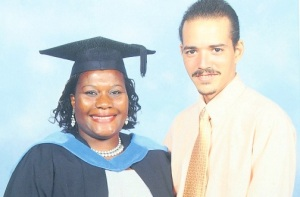 Yolanda Silvera and her husband Shane. (Photo: Bryan Cummings/Jamaica Observer)