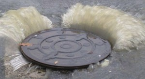 Where did all this sewage go to?