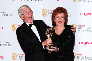 Cilla with one of her many awards.
