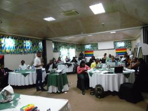 "Participants in a recent workshop in Grenada coordinated by United and Strong Inc. on ""Developing Litigation and Advocacy strategies towards addressing LGBTI Human Rights in the OECS."" (Photo: United and Strong/St. Lucia)"