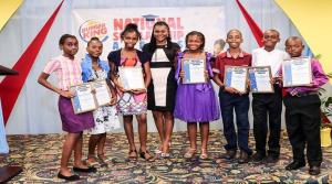 Some of the students at the annual Burger King educational awards ceremony. (Photo: Loop Jamaica)