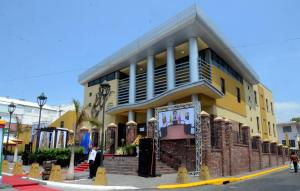 The Simon Bolivar Cultural Centre opened in downtown recently.