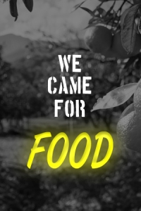 """You can be a """"Food Band"""": Food security is a vital aspect of climate change, in light of drought, increased pests, floods and uncertainty over harvesting seasons."""