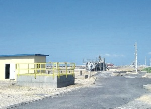 The new Harbour View sewage treatment plant. (Photo: Jamaica Observer)