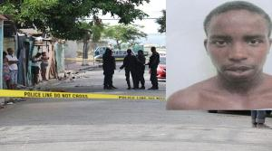 "The police went in search of Andre Foreman (""Kettle"") in Fleet Street, Kingston and he was shot and killed. The police say they recovered a firearm. (Photo: Loop Jamaica)"