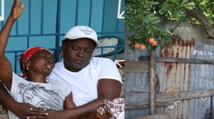 The grandmother of 24-year-old Andrew Gayle mourns his death. Gayle was allegedly shot dead by the police while picking ackees in Trench Town. (Photo: Loop Jamaica)