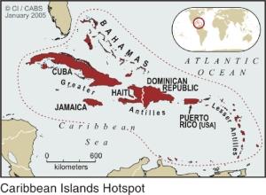 The Caribbean Islands Biodiversity Hotspot