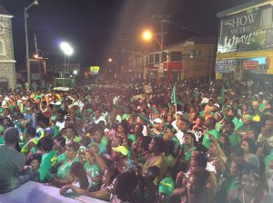 A Jamaica Labour Party rally. (Photo: Twitter)