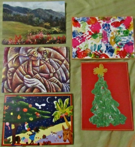 S.T.E.P. Centre Christmas cards, J$100 each. (My photo)
