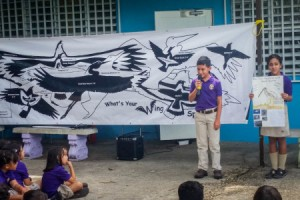 International Migratory Bird Day activities in Puerto Rico. (Photo by Leslie Ann Pizarro Muriel)
