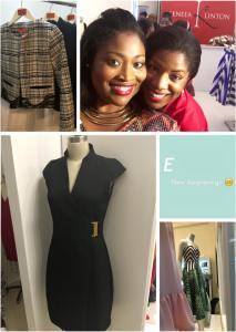 Entrepreneur extraordinaire Yaneek Page (left) with fashion designer Keneea Linton-George - Jamaican designed and made! (Photo: Facebook)