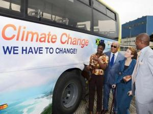 A 2013 advertisement campaign funded under the Government of Jamaica/European Union (EU)/United Nations Environment Programme Climate Change Adaptation Disaster Risk Reduction Project, as part of its public education initiative. I hope Jamaicans are getting the message. (Photo: Gleaner)