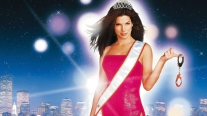 "Sandra Bullock, the tough FBI agent turned beauty contestant with a heart of gold in ""Miss Congeniality."""