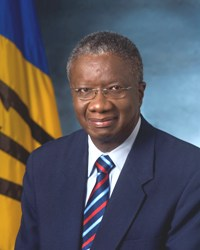CARICOM Chairman and Prime Minister of Barbados Freundel Stewart.