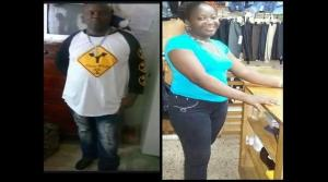 35-year-old security guard Sydney Brown shot dead his girlfriend Verona Clark, 34, during an argument in Linstead town square. He then shot himself. (Photo: Loop Jamaica)