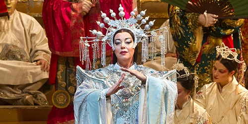 Turandot must be obeyed. (Photo: Metropolitan Opera of New York)