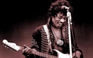 Jimi Hendrix (1942-1970) died on a warm day in late summer, just after I had gone back to school. I remember crying all through supper, much to my parents' exasperation.