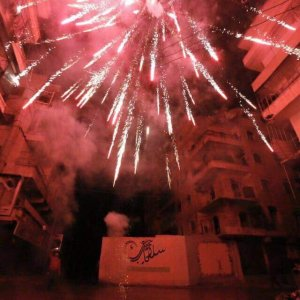 New Year's Eve, Aleppo, Syria. (Photo: Mustafa Sultan).